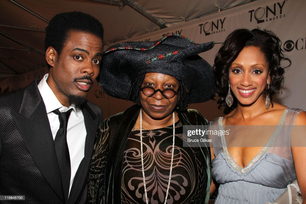 <a gi-track='captionPersonalityLinkClicked' href=/galleries/search?phrase=Chris+Rock&family=editorial&specificpeople=202982 ng-click='$event.stopPropagation()'>Chris Rock</a>, <a gi-track='captionPersonalityLinkClicked' href=/galleries/search?phrase=Whoopi+Goldberg&family=editorial&specificpeople=202463 ng-click='$event.stopPropagation()'>Whoopi Goldberg</a> and <a gi-track='captionPersonalityLinkClicked' href=/galleries/search?phrase=Malaak+Compton-Rock&family=editorial&specificpeople=709163 ng-click='$event.stopPropagation()'>Malaak Compton-Rock</a> attend the 65th Annual Tony Awards at the Beacon Theatre on June 12, 2011 in New York City.