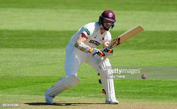 Chris Rogers of Somerset bats during Day One of the Specsavers County Championship Division One match between Somerset and Yorkshire at the Cooper...