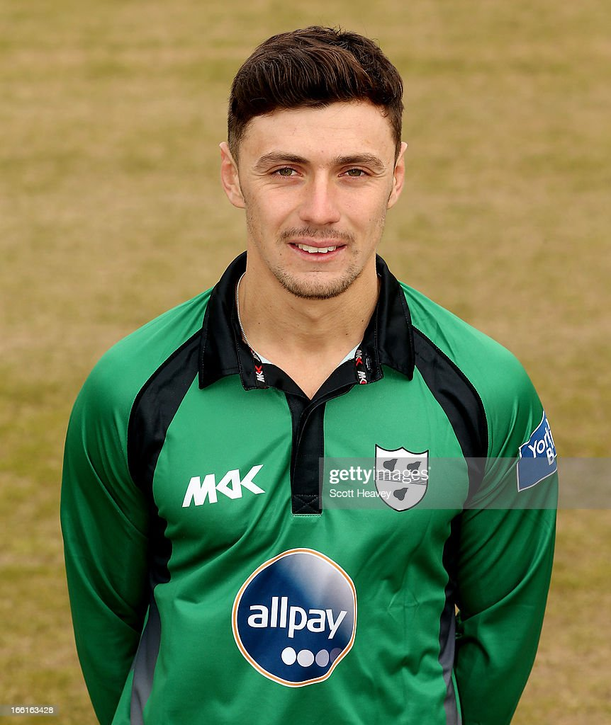 Chris Russell during a Photocall for Worcestershire County Cricket Club on April 9, 2013 in Worcester, England.