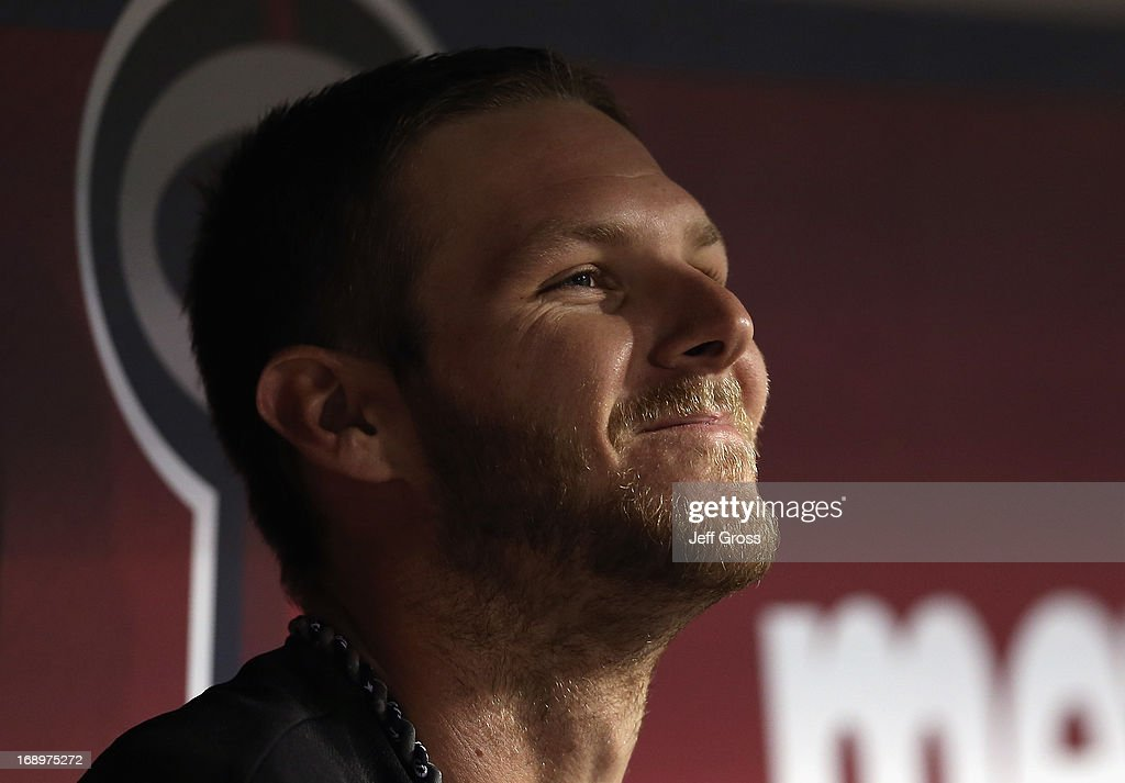 <a gi-track='captionPersonalityLinkClicked' href=/galleries/search?phrase=Chris+Sale&family=editorial&specificpeople=7132181 ng-click='$event.stopPropagation()'>Chris Sale</a> #49 of the Chicago White Sox looks on from the dugout against the Los Angeles Angels of Anaheim in the fourth inning at Angel Stadium of Anaheim on May 17, 2013 in Anaheim, California.