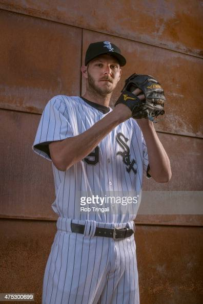 Chris Sale of the Chicago White Sox poses for a portrait on photo day at the Glendale Sports Complex on February 22 2014 in Glendale Arizona
