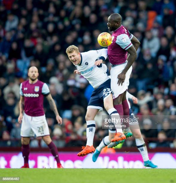 Chris Samba of Aston Villa during the Sky Bet Championship match between Aston Villa and Millwall at Villa Park on December 09 2017 in Birmingham...