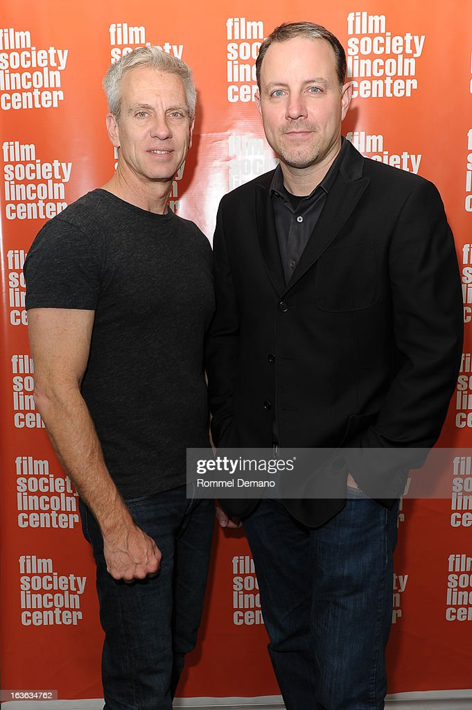 Chris Sanders and Kirk De Micco, attend 'The Croods' screening at The Film Society of Lincoln Center, Walter Reade Theatre on March 13, 2013 in New York City.