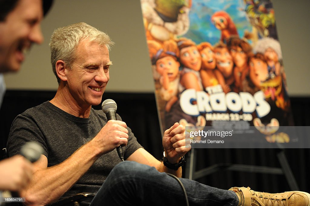 Chris Sanders attend 'The Croods' screening at The Film Society of Lincoln Center, Walter Reade Theatre on March 13, 2013 in New York City.