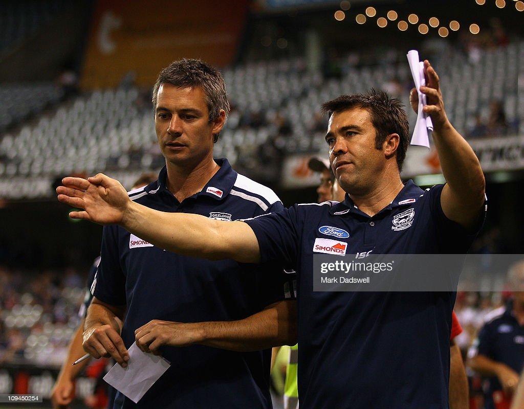 NAB Cup Quarter Final 3 - Geelong v St Kilda
