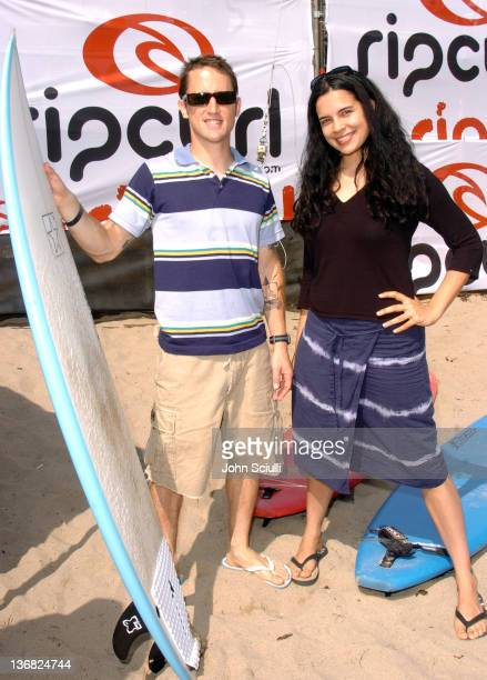 Chris Shiflett of Foo Fighters and Zuleikha Robinson