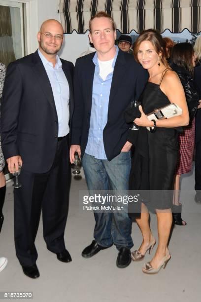 Chris Silvermann Bret Ellis and Josie Freidman attend Bret Easton Ellis to celebrate the publication of his new novel IMPERIAL BEDROOMS at Penthouse...