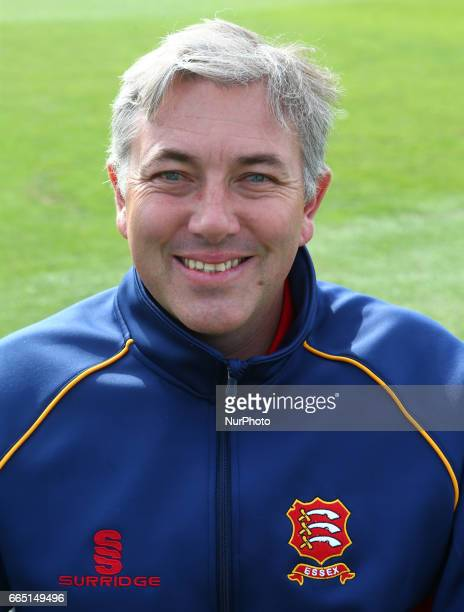 Chris Silverwood Head Coach of Essex CCC during the Essex County Cricket photocell held at The Cloudfm County Ground on April 5 2017 in Chelmsford...