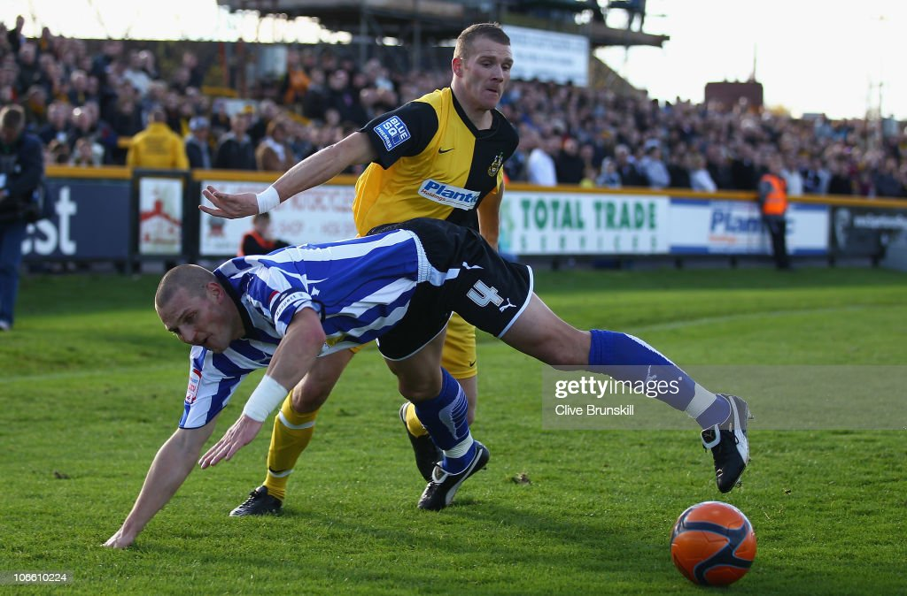 Southport v Sheffield Wednesday - FA Cup 1st Round Proper