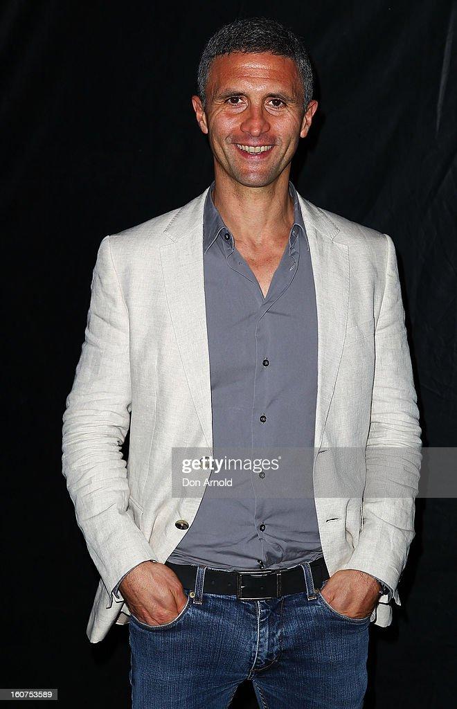 Chris Simon poses at the 'The Sweeney' OpenAir Cinema premiere on February 5, 2013 in Sydney, Australia.