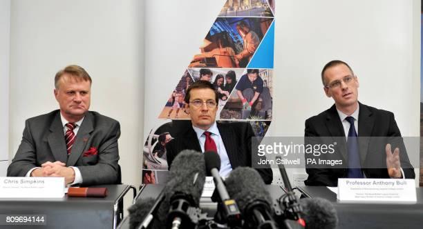 Chris Simpkins Director General of the British Legion Colonel Jon Clasper Defence Professor of Trauma and Orthopaedics and Professor Anthony Bull...
