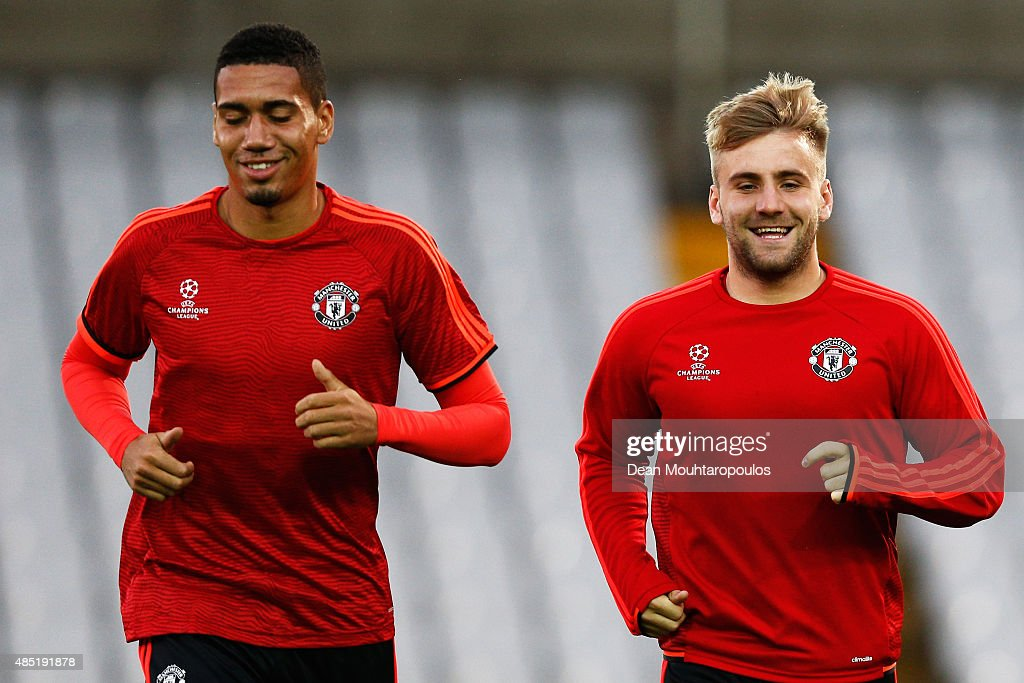 Manchester United Training and Press Conference : News Photo