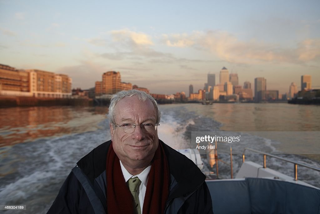 Chris Smith MP, Lord Smith of Finsbury, chairman of the Environmental Agency, poses for a portrait on the River Thames, on November 14, 2010 in London, England.