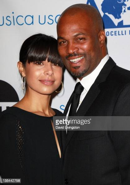 Chris Spencer and wife Vanessa...
