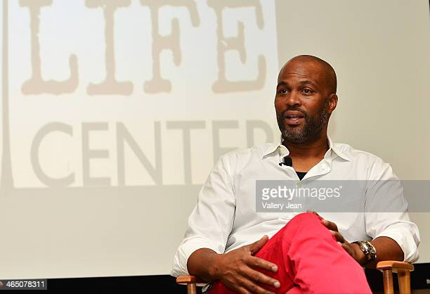 Chris Spencer attend a master class series A Conversation with Chris Spencer conducted by Miami Film Life Center at Camillus House on January 25 2014...