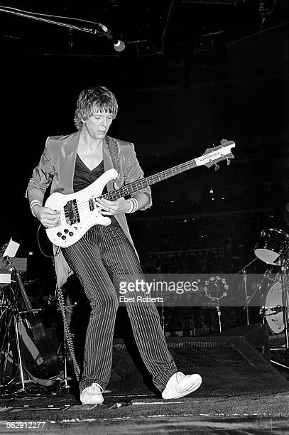 Chris Squire performing with Yes at Madison Square Garden in New York City on September 4 1980