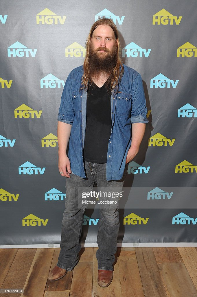 Chris Stapleton attends HGTV'S The Lodge At CMA Music Fest - Day 3 on June 8, 2013 in Nashville, Tennessee.