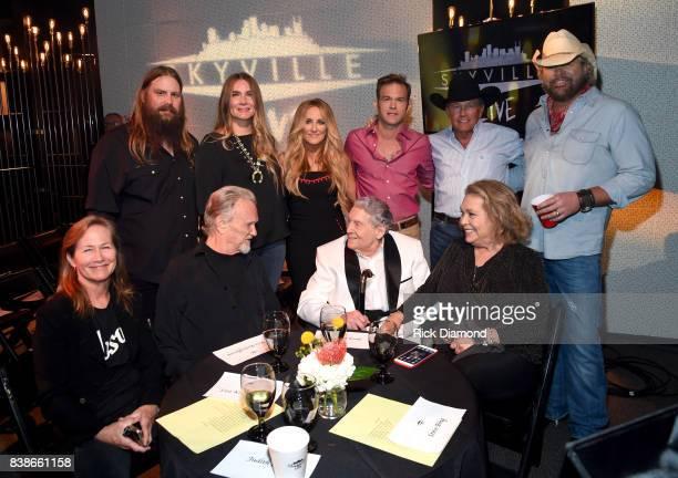 Chris Stapleton Morgane Stapleton Lee Ann Womack Waylon Payne George Strait Toby Keith Lisa Meyers Kris Kristofferson Jerry Lee Lewis and Judith...