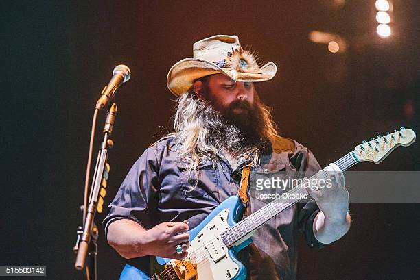 Chris Stapleton performs on day 3 of C2C Country 2 Country festival at The O2 Arena on March 13 2016 in London England
