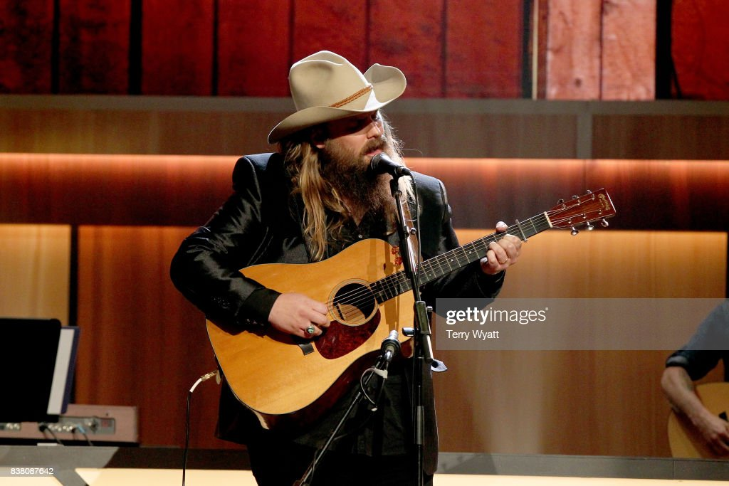 Chris Stapleton performs onstage during the 11th Annual ACM Honors at the Ryman Auditorium on August 23, 2017 in Nashville, Tennessee.