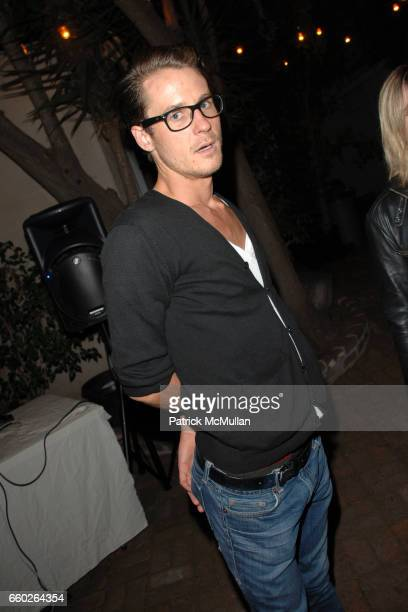 Chris Steidel attends Rose Apodaca and Andy Griffith Invite You To Meet George Esquivel at Esquivel House on June 18 2009 in Los Angeles California