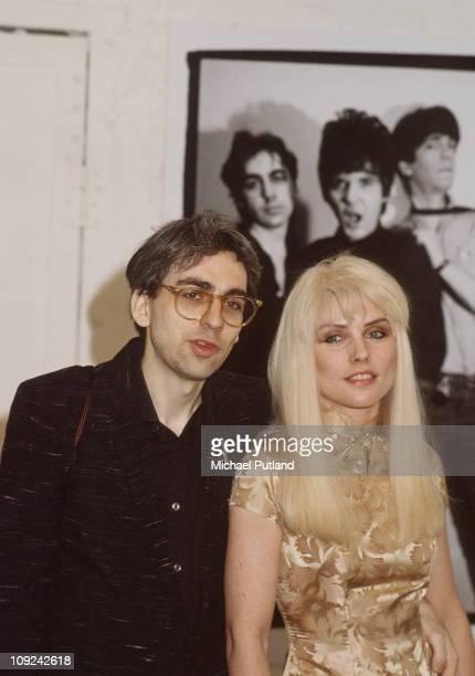 Chris Stein and Debbie Harry of Blondie New York 1981