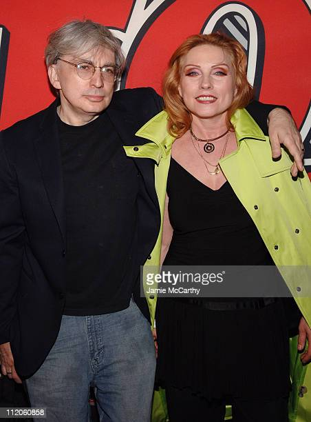 Chris Stein and Deborah Harry during Rolling Stone Magazine Celebrates their 1000th Issue at Hammerstein Ballroom in New York City New York United...