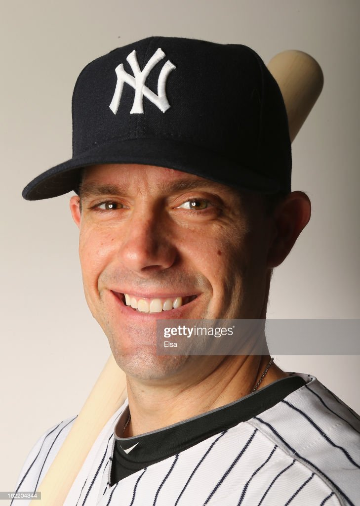 Chris Stewart #19 of the New York Yankees poses for a portrait on February 20, 2013 at George Steinbrenner Stadium in Tampa, Florida.