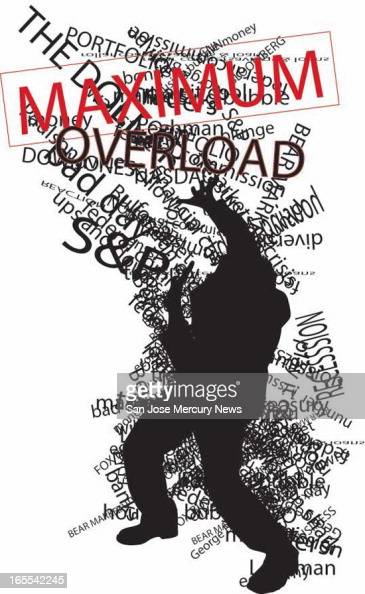 Chris Strach color illustration of person being assaulted by financialcrisis text