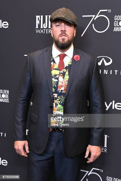 Chris Sullivan arrives at the Hollywood Foreign Press Association And InStyle Celebrate The 75th Anniversary Of The Golden Globe Awards at Catch LA...