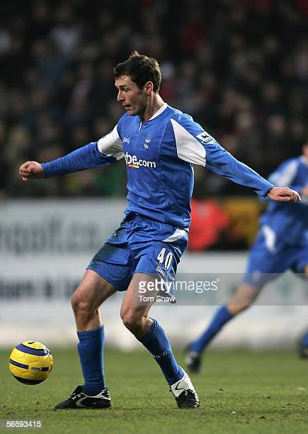Chris Sutton of Birmingham City in action during the Barclays Premiership match between Charlton Athletic and Birmingham City at The Valley on...