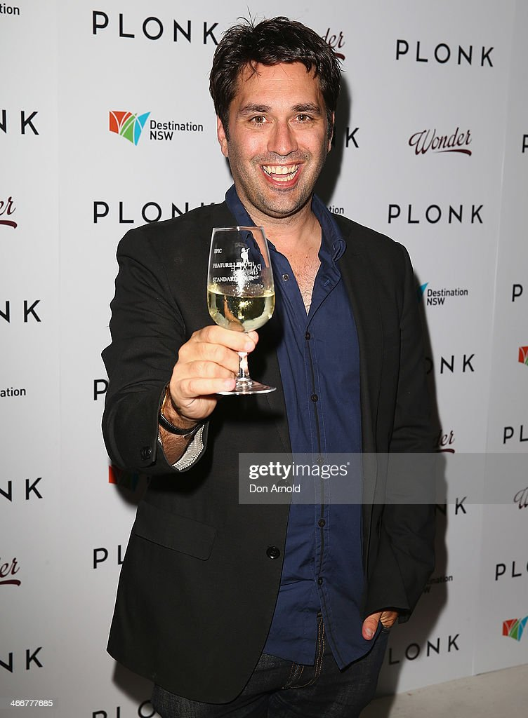 Chris Taylor poses during the PLONK media launch at Palace Verona on February 4, 2014 in Sydney, Australia.