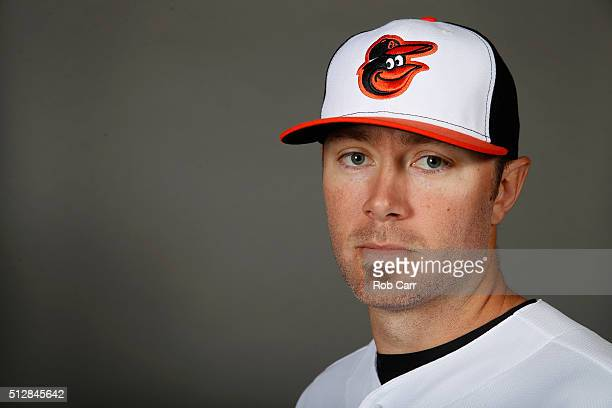 Chris Tillman of the Baltimore Orioles poses during photo day at Ed Smith Stadium on February 28 2016 in Sarasota Florida