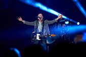 Chris Tomlin performs during the 'Love Ran Red' tour at Target Center on March 28 2015 in Minneapolis Minnesota