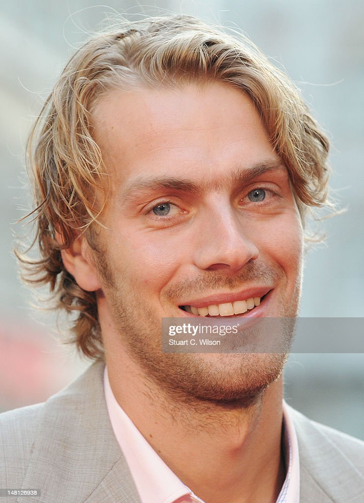 Chris Tomlinson attends the 'Chariots Of Fire' UK Film Premiere at Empire Leicester Square on July 10, 2012 in London, England.