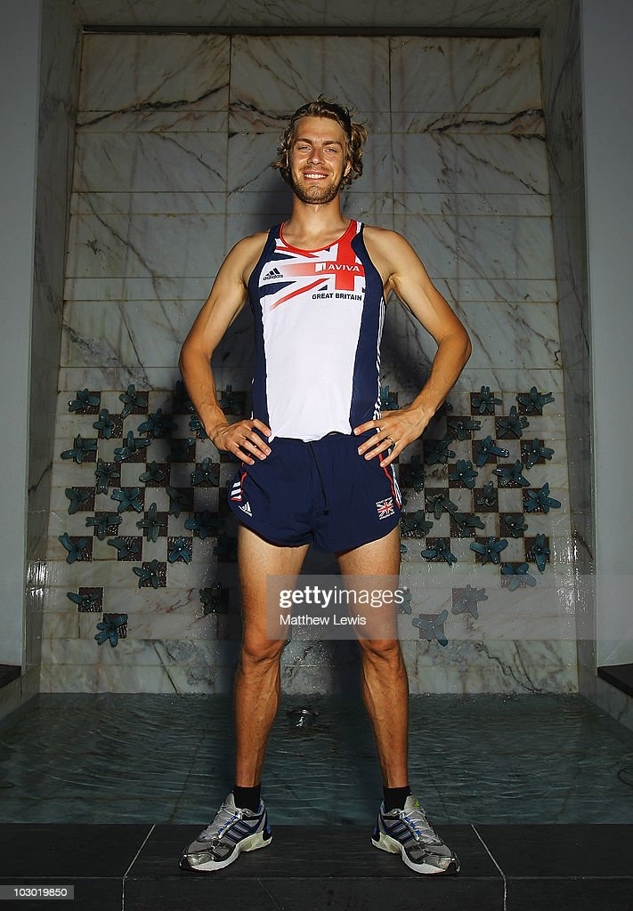 Chris Tomlinson of Great Britain poses for a portrait during the Aviva funded GB & NI Team Preparation Camp on July 21, 2010 in Monte Gordo, Portugal.