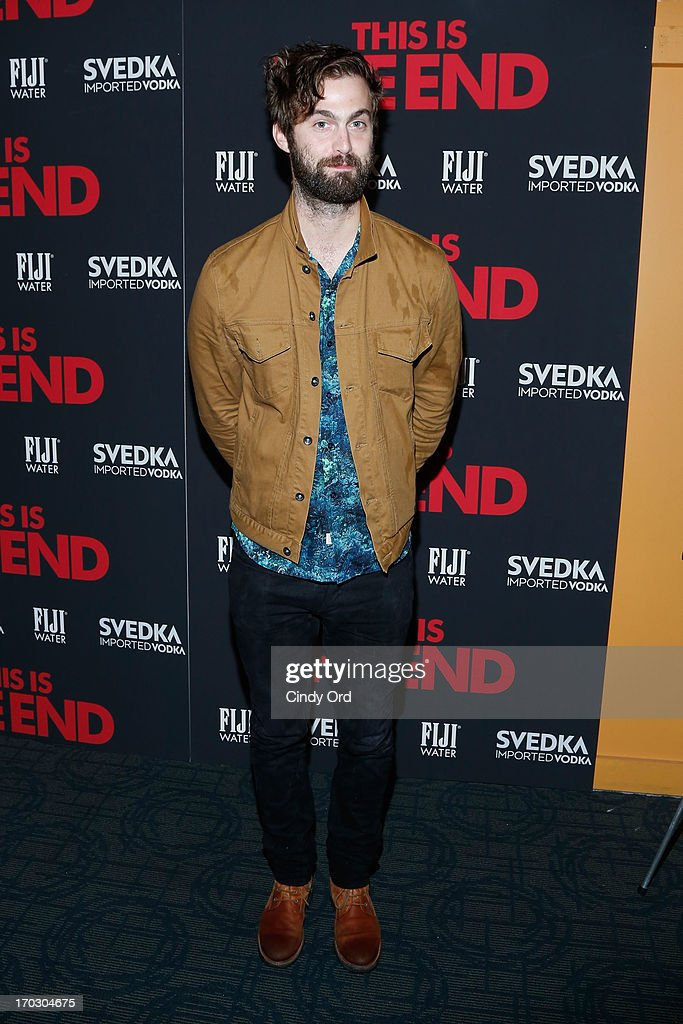 Chris Tomson attends 'This Is The End' New York Premiere at Sunshine Landmark on June 10, 2013 in New York City.