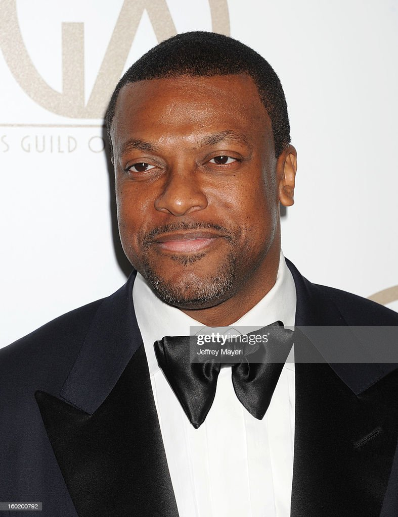 Chris Tucker arrives at the 24th Annual Producers Guild Awards at The Beverly Hilton Hotel on January 26, 2013 in Beverly Hills, California.
