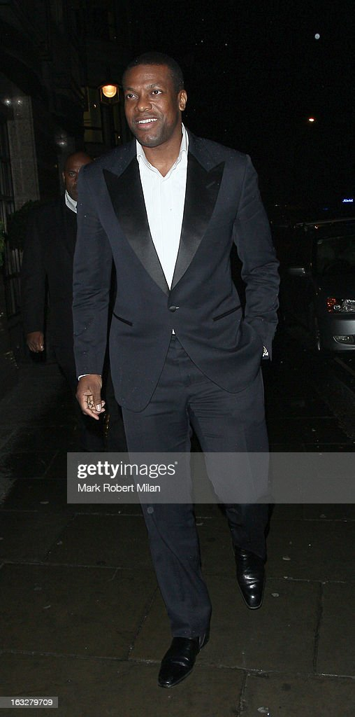 Chris Tucker at Sketch restaurant on March 6, 2013 in London, England.
