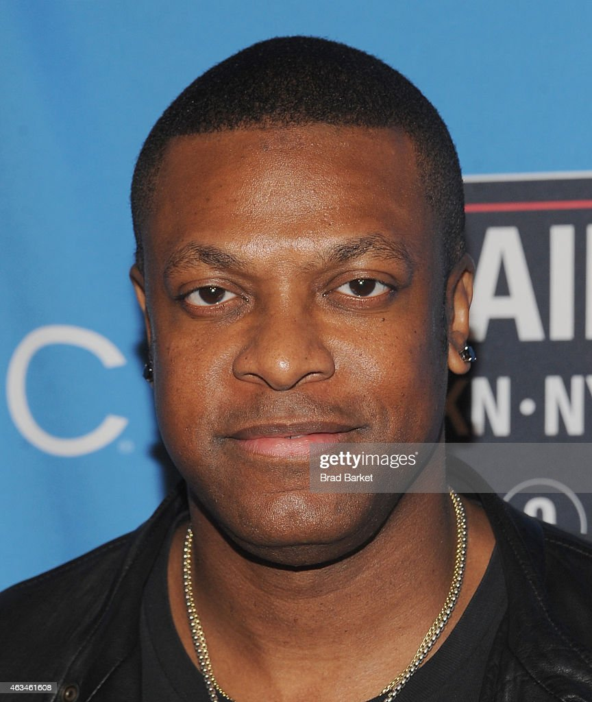 <a gi-track='captionPersonalityLinkClicked' href=/galleries/search?phrase=Chris+Tucker&family=editorial&specificpeople=203254 ng-click='$event.stopPropagation()'>Chris Tucker</a> attends State Farm All-Star Saturday Night - NBA All-Star Weekend 2015 at Barclays Center on February 14, 2015 in New York, New York.