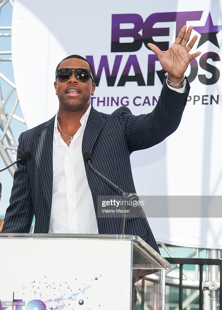 Chris Tucker attends the 2013 BET Awards Press Conference at Icon Ultra Lounge on May 14, 2013 in Los Angeles, California.