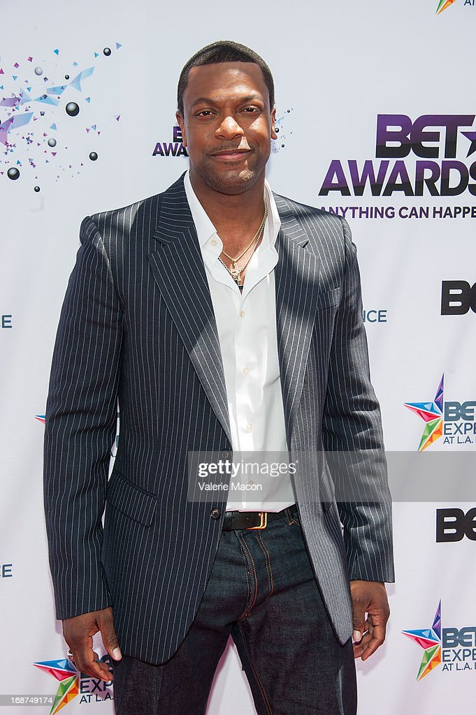 <a gi-track='captionPersonalityLinkClicked' href=/galleries/search?phrase=Chris+Tucker&family=editorial&specificpeople=203254 ng-click='$event.stopPropagation()'>Chris Tucker</a> attends the 2013 BET Awards Press Conference at Icon Ultra Lounge on May 14, 2013 in Los Angeles, California.