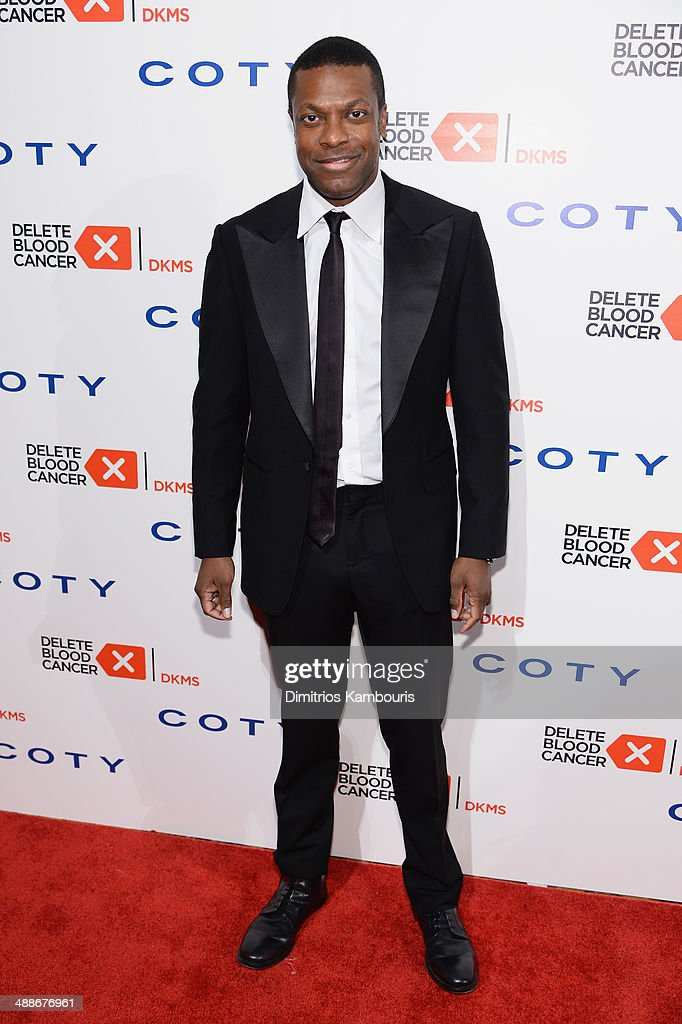 <a gi-track='captionPersonalityLinkClicked' href=/galleries/search?phrase=Chris+Tucker&family=editorial&specificpeople=203254 ng-click='$event.stopPropagation()'>Chris Tucker</a> attends the 2014 Delete Blood Cancer Gala Honoring Evan Sohn and the Sohn Conference Foundation at Cipriani Wall Street on May 7, 2014 in New York City.