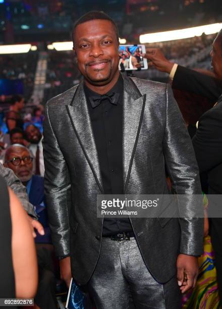 Chris Tucker attends the 2017 Andrew Young International Leadership awards and 85th Birthday tribute at Philips Arena on June 3 2017 in Atlanta...