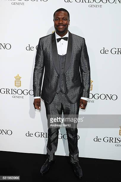 Chris Tucker attends the De Grisogono Party at the annual 69th Cannes Film Festival at Hotel du CapEdenRoc on May 15 2016 in Cap d'Antibes France