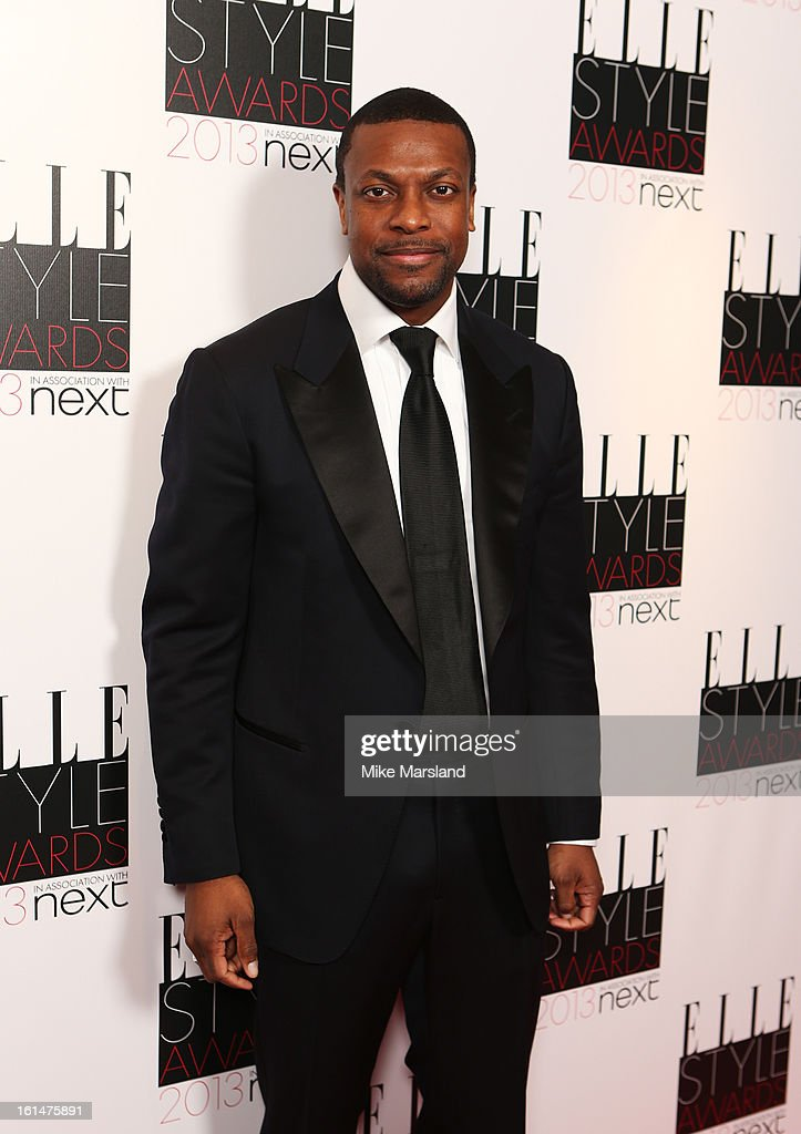 <a gi-track='captionPersonalityLinkClicked' href=/galleries/search?phrase=Chris+Tucker&family=editorial&specificpeople=203254 ng-click='$event.stopPropagation()'>Chris Tucker</a> attends the Elle Style Awards 2013 at The Savoy Hotel on February 11, 2013 in London, England.
