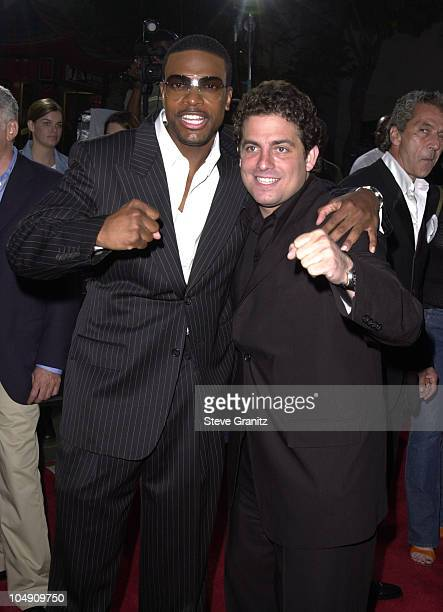 Chris Tucker Brett Ratner during 'Rush Hour 2' Los Angeles Premiere at Chinese Theater in Hollywood California United States