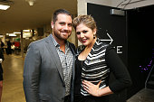 Chris Tyrrell and Hillary Scott of Lady Antebellum attend the 36th annual Georgia Music Hall of Fame Awards at the Georgia World Congress Center on...