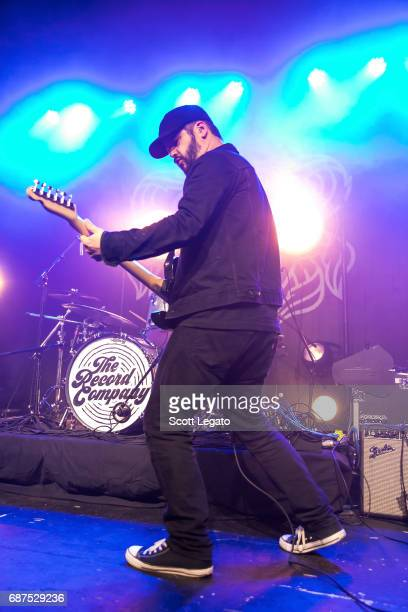 Chris Vos of The Record Company performs at St Andrews Hall on May 23 2017 in Detroit Michigan