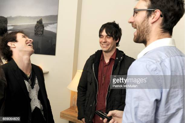 Chris Wallace Ryan McClain and Oliver Coleman attend MUSIC UNITES AND UNIVERSAL MOTOWN Present BLUE OCTOBER and TAMARAMA at Norwood on April 30 2009...